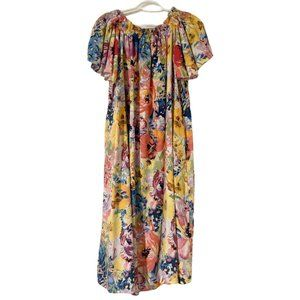 H&M Floral Midi Oversized Dress!